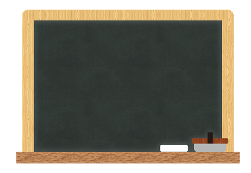 Chalkboard, Chalk, Eraser, Frame, Blackboard, Green