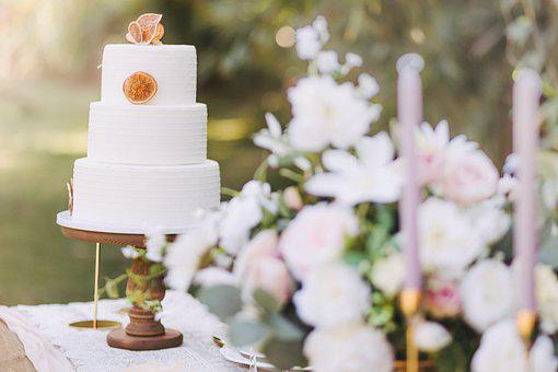 Wedding Cake, Cake, Party, Pastry, Food, Confection