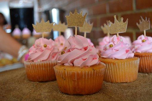 Cupcakes, Cakes, Reina, Dessert, Baking, Birthday