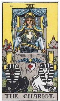 Chariot, Tarot, Card, Magic, Fortune, Divination
