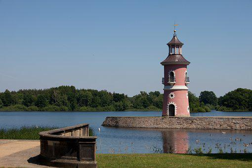 Castle Moritzburg, Lighthouse, August The Strong