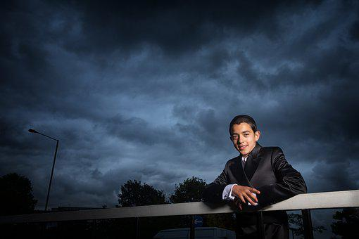 Man, Suit, Fashion, Outdoors, Cloudy, Wedding, Groom