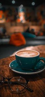 Cafe, Coffee, Cup, Mug, Latte, Coffee Cup