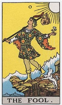 The Fool, Tarot, Card, Magic, Fortune, Divination