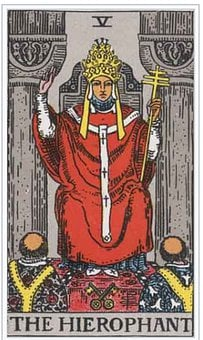 Hierophant, Tarot, Card, Magic, Fortune, Divination