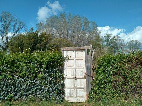 Nature, Door, Fantasy, House, Fairy, Wood, Doorway