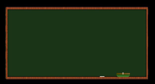Chalkboard, Eraser, Blackboard, Green, Classroom, Frame