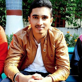Handsome, Teenager, Indian