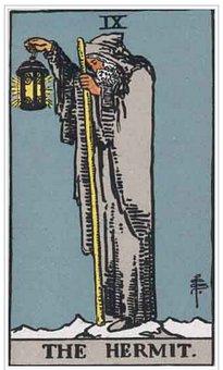 Hermit, Tarot, Card, Magic, Fortune, Divination