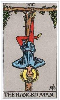 Hanged Man, Tarot, Card, Magic, Fortune, Divination
