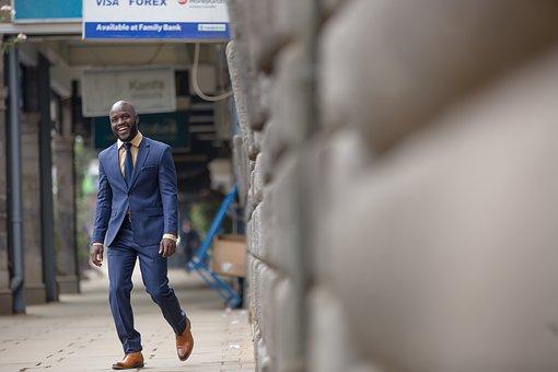 Man, Suit, Street, Business, Business Man, Professional