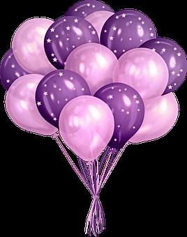 Balloons, Party, Celebration, Decoration, Confetti