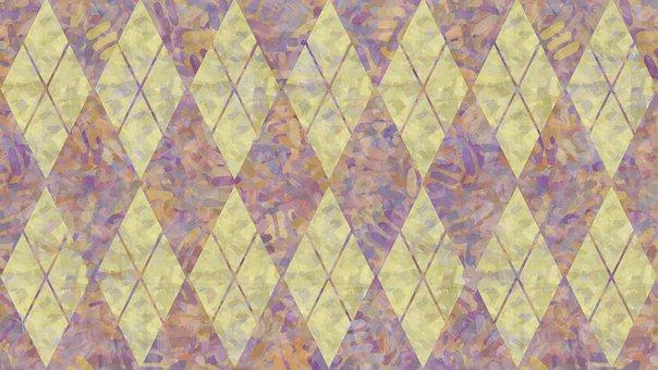 Rhomboid, Pattern, Background, Geometric, Rhombus