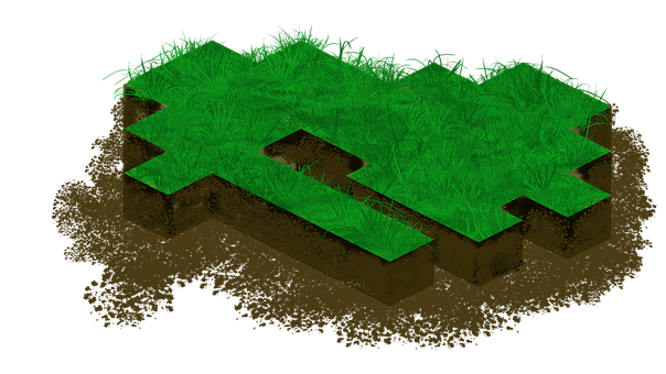 Isometric, Game, Art, Perspective, Asset, Map, Grass