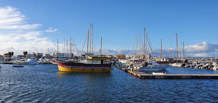 Ships, Boats, Sea, Port, Ocean, Sicily, South