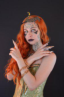 Female, Costume, Model, Portrait, Cosplay, Makeup