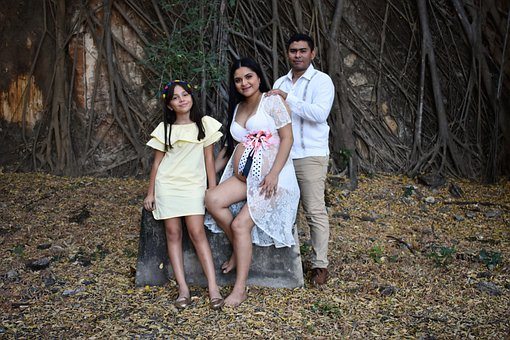 Family, Couple, Pregnant, Parenthood, Parents, Portrait