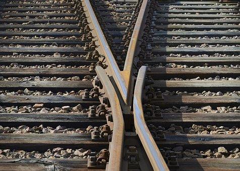 Threshold, Railway Sleepers, Track Bed, Railroad Tracks