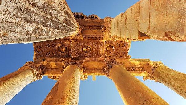 Lebanon, Baalbek, Ruins, Architecture, History
