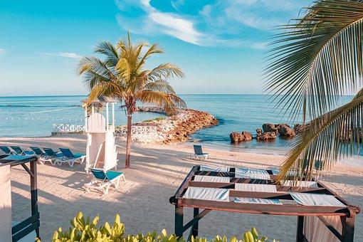 Island, Jamaica, Beach, Travel, Caribbean, Resort, Sand