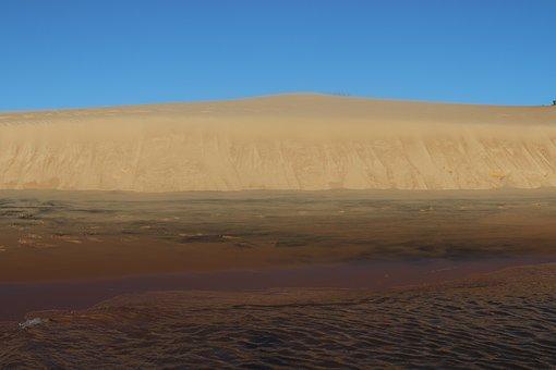 Rio, Dunes, Alagoas, Landscape, Sand, Nature, Water