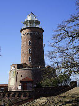 Lighthouse, Baltic Sea, Sea, Rural, Tower, Architecture