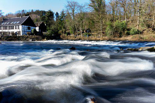 Watercourse, Solihull, Wupper, Wipperaue, Restaurant