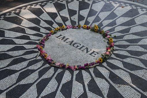 Imagine, Art, Imagination, Circle, Central Park