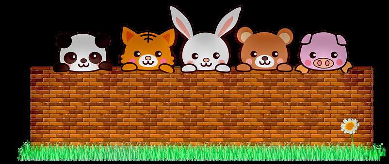 Animals, Brick Wall, Cute, Kawaii Animals, Panda, Cat