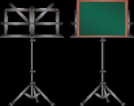 Chalkboard, Blackboard, Music Rack, Music Stand