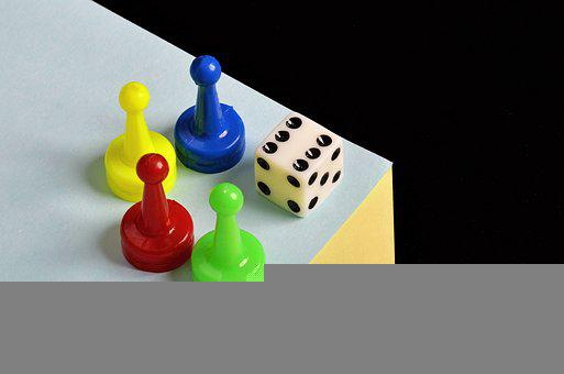 Dice, Game, Play, Pieces, Board Game