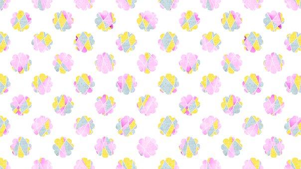 Digital Paper, Flowers, Pattern, Background, Floral
