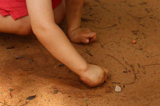 Child, Kid, Guy, Beach, Playing, Fun, Nice, Cute, Learn