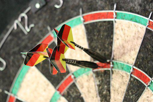 Dart, Target, Bull's Eye, Sport, Game Of Darts