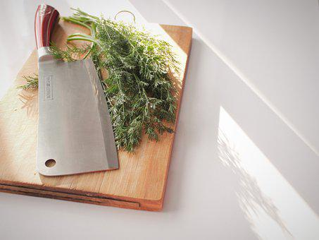 Cleaver, Knife, Kitchen, Cook, Chef's Knife, Gastronomy