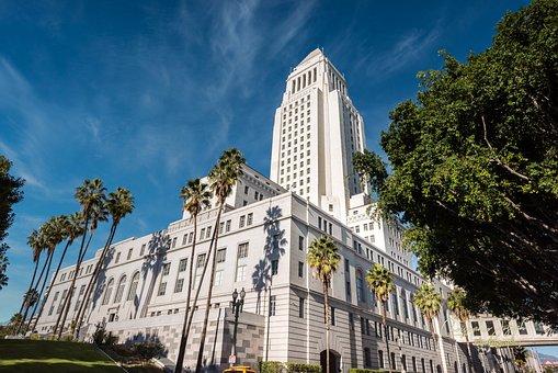 Los Angeles, La City Hall, Architecture, Landmark