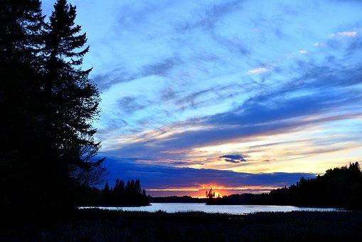Landscape, Nature, Clouds, Environment, Coniferous