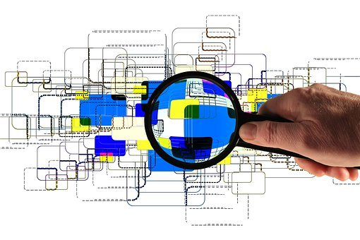 Hand, Keep, Magnifying Glass, Monitor, Network