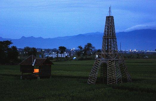 Mountain, Bromo, Malang, Mendit, Lanscape, Night