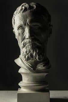 Museum, Bust, Sculpture, Statue, Monument, Rome, Italy