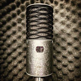 Microphone, Music, Mic, Audio, Studio, Speech