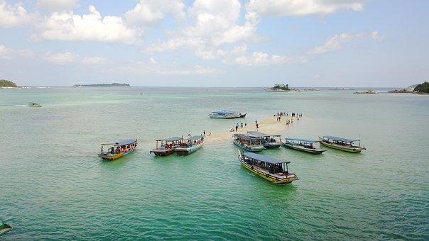 Indonesia, Belitung, Water, Nature, Travel, Sky