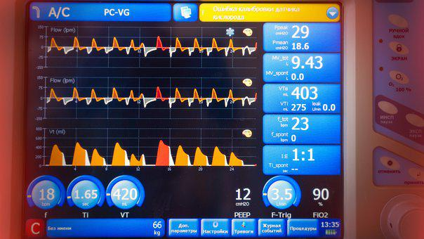 Rate, Wave, Lung Ventilator, Health, Breathing, Oxygen