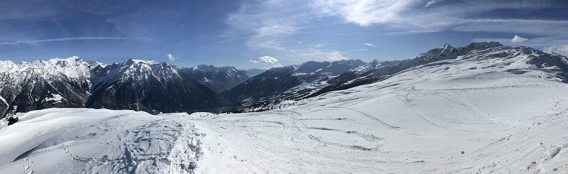 Panorama From The Tip Of Larescia