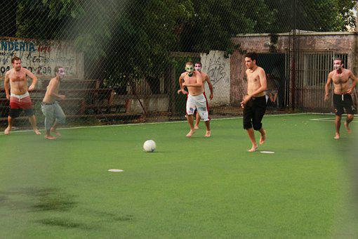 Boys, People, Kick, Play, Sport, Football, Field, Party
