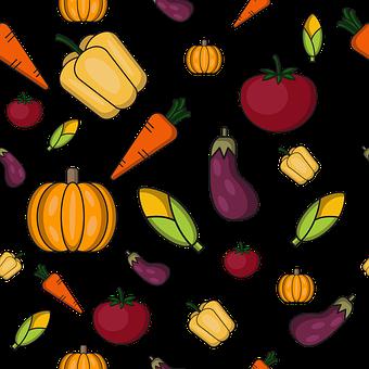 Carrot, Pumpkin, Corn, Eggplant, Tomato, Agriculture