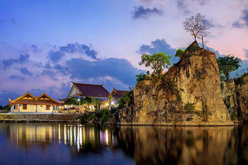Lake, Landscape, Water, Reflection, Nature, Sky, Blue