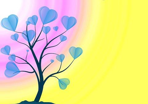 Tree, Heart, Love, Self Love, Valentine's Day