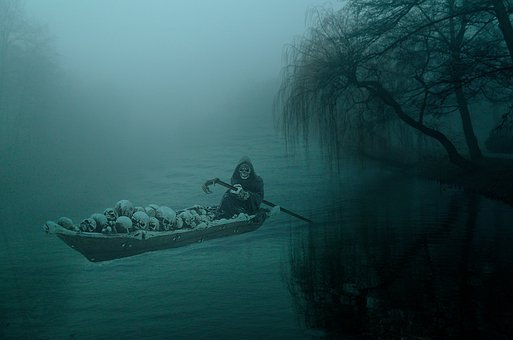Death, Swamp, River, Souls, Avernus, Styx