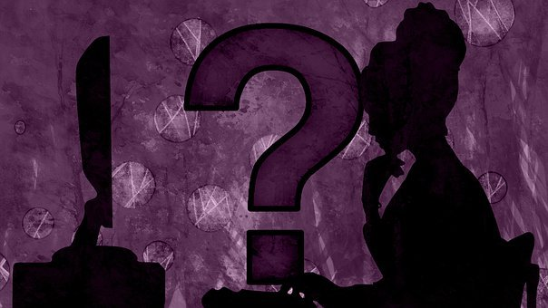 Question Mark, Woman, Ideas, Lady, Concept, Symbol